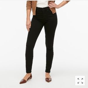 J Crew Black High Waisted Skinny Jeans 32 Waist